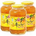はちみつゆず茶 ビタミンC まとめ買い (オトギ 蜂蜜柚子茶 1kg×3) ゆず茶 甘味 果肉入り 美味しい