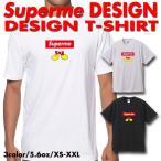 ストリート大人気ブランドTシャツ ボックスロゴ Superman デザイン パロディ Supreme Supreme好き必見 おしゃれ デザイン トレンド 可愛い 男女兼用