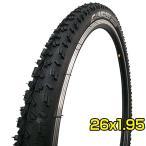 マウンテンバイク タイヤ 26インチ 26x1.95 HE  52-559 W2001 コンパス COMPASS ブロックタイヤ