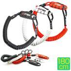 自転車 ロック ワイヤー コイル ダイヤル 軽量 軽い 180cm 1800mm 形状記憶 ダブルワイヤーケーブル Q BIRO クロップス crops CP-SPD04