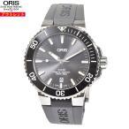 アウトレット オリス 腕時計 新品 73377307153R アクイス チタニウム デイト 自動巻き ダイバーズ チタン セラミック メンズ 腕時計 733 7730 7153R