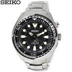 SEIKO セイコー 腕時計 SUN019P1 プロスペックス キネティックドライブ PROSPEX クォーツ 自動巻き発電  GMT メンズ 逆輸入