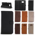 ショッピングs.h Galaxy S7 edge ケース カバー 手帳型ケース docomo SC-02H au SCV33 ギャラクシー s7エッジ s7edge  メール便 送料無料