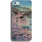 川瀬巴水 錦帯橋 ハードケース iPhone7 iPhone6s Xperia Galaxy