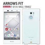 f01h 保護フィルム 付き arrows fit F-01H ケース カバー f01k f05j スマホカバー f01j f03h 耐衝撃 f02h f04g デコ f02g f05f アローズfit Fー01H クリア