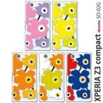 SO02G 保護フィルム付き)docomo XPERIA Z3 COMPACT SO-02G カバー ケース ディズニー スマホケース 携帯カバー エクスペリアz3 soー02gスマホカバー FLOWER2