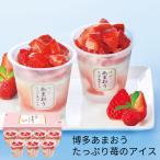 (産地直送・送料無料) 博多あまおう たっぷり苺のアイス (-S9005-403A-)   内祝い ギフト 出産内祝い 引き出物 結婚内祝い 快気祝い お返し 志