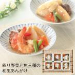 (産地直送・送料無料) 彩り野菜と魚三種の和風あんかけ (-3046-503-) | 内祝い ギフト 出産内祝い 引き出物 結婚内祝い 快気祝い お返し 志
