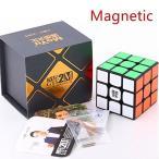 WeiLong GTS2M ブラック [MoYu] 磁石内蔵3x3x3競技用スピードキューブ YJ8254