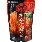 送料無料 12個 ミツカン 〆まで美味しいキムチ鍋つゆ ストレートタイプ 750g 賞味期限2021.10.16以降