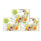 フルーツ果汁たっぷり! フルーツ青汁 【艶 Aojiru 3袋セット】 1袋100g 1回3gで約1か月分を3袋