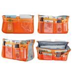 バッグインバッグ 収納バッグ インナーバッグ 収納たっぷり 整理整頓 化粧ポーチ 軽い 旅行 便利グッズ