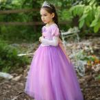 ハロウィンコスチューム 子ども キッズ ベビー プリンセス 女の子 仮装 コスプレ ドレス お姫様 ロンT コスチューム halloween
