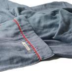 ブルーム 今治タオル 認定 ビレア ガーゼケット 5重ガーゼ タオルケット 綿100% やわらか ガーゼ生地 日本製 (ネイビー,
