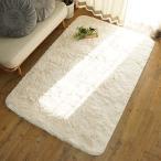 手洗いOK 洗える ウォッシャブル 抗菌 消臭 ペット対応 ホットカーペット対応 床暖房対応 滑り止め付き (スノー 190x190cm)