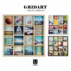 写真立て / グリッドアート フォトディスプレイ GRIDART /umbra アンブラ