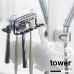 歯ブラシホルダー 吸盤 /  吸盤トゥースブラシホルダー タワー 5連