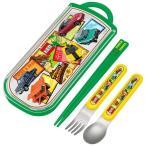 トミカ 箸 /  食洗機対応スライド式トリオセット トミカ17 「3個までネコポス」