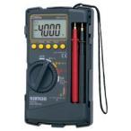 【平日14時まで即日出荷】三和電気計器 デジタルマルチメータ ケース一体型 CD800a
