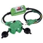 【在庫限り】日動工業 PBW-EK-T 防雨ポッキン延長ブレーカ 過負荷・漏電保護兼用