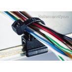 ヘラマンタイトン エッジクリップ付きタイ (耐熱グレード) T50ROSHSBEC24 (黒/100本入)