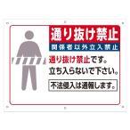 送込 通り抜け禁止看板  当店オリジナル看板   GA-021