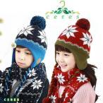 帽子 マフラー 2点セット  キッズ 子供 女の子 男の子 子供用 秋冬 セット 冬 防寒 あったか 可愛い かわいい ジュニア