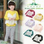 ショッピングトップス トップス 長袖 女の子 キッズ 子供服 Tシャツ 長袖カットソー 韓国子供服 女の子