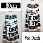 女の子 ラップタオル213207 Von Dutch ボンダッチ 裾レース  赤系 青系 丈80cm(5/倉1