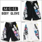 ショッピングサーフパンツ メンズ BODY GLOVE サーフパンツ 0203-232 ブルー ホワイト ピンク M L LL
