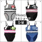 ハーフトップ&ショーツ ディズニー キャラクター 女の子 S M Aミニー Bミッキー&ミニー Cマイク Dドナルド&デイジー h0040 Disney /
