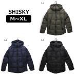 シスキー 袖ライン 中綿 ジャンパー M L XL 3-1カーキ 3-2ネイビー 3-3ブラック 848-104 SHISKY (5/倉1