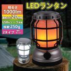 LEDランタン ライト ソーラー充電 USB充電 一灯二色 炎のように灯りが揺らぐ 暖色 昼白色 無段階調光 アウトドア キャンプ 登山 旅行用品 おしゃれ おすすめ