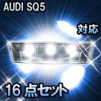 LED ルームランプ AUDI SQ5  対応  16点セット