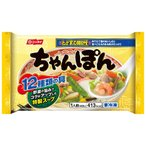 冷凍食品 日本水産 ちゃんぽん 1人前(402g)×12個 | ちゃんぽん チャンポン 冷凍麺 冷凍食品 フローズンアワード 入賞