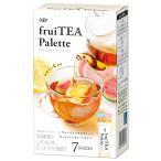 紅茶 インスタント キーコーヒー フルーティーパレット フルーツミックスティー 7P×6個| スティック