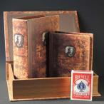 BOOKBOX(ブックボックス)3個セット【アンティーク調・本型収納箱】28278