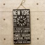 壁掛時計 Antique Clock BUS ROLL SIGN レトロ アンティーククロック バスロールサイン NEW YORK