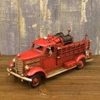 ブリキのおもちゃ ヴィンテージカー ファイアートラック 消防車 CY070582