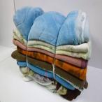 中古毛布(10枚セット) 約1300mm×約1800mm 古毛布 養生毛布 リサイクル毛布 運送 塗装 犬猫 防寒 楽器 保護 緩衝 古い毛布 あて布団 毛布販売