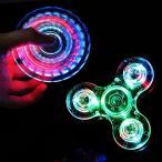 Yahoo!NewwestHand Spinner ハンドスピナー 指スピナー 光るLEDライト三角発光 led搭載