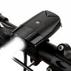 自転車ライト 明るい1200mah 高輝度 USB充電 タッチスイッチ超小型LED 軍事用 IP65 防水 防災