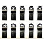 ショッピングプラスチック プラスチック・木材用10点 マルチツール 替刃 日立 マキタ ボッシュ BOSCH カットソー ブレード 先端工具