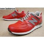 ニューバランス 靴 M576 RED RED new balance メンズ スニーカー カジュアル メイドインイングランド ワイズD レッド