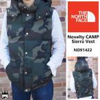 ザ ノースフェイス THE NORTH FACEメンズ ND 91422 Novelty CAMP Sierra Vest ノベルティーキャンプシェラベスト ダウンベスト PERTEX 静電気防止
