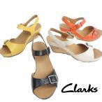 クラークス Clarks レディース サンダル 424F サンダル 424f RUSTY ART ラスティーアート 本革 サンダル ウェッジソール