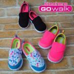スケッチャーズ SKECHERS 女の子 子供靴 キッズ スニーカー 81021N ゴーウォーク GO WALK  カワイイ リンクコーデ ベルクロ 通園 オシャレ おでかけ