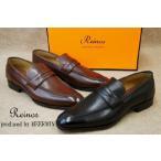 レイノス 靴 produced by メルミン RM-3003 / Reinos produced by MEERMIN メンズ ビジネスシューズ ローファー 冠婚葬祭
