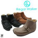 リーガルウォーカー REGAL WALKER レディース ブーツ HA89 ベルト付インヒールブーツ ショートブーツ カジュアルシューズ