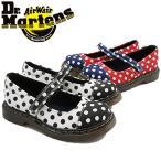ドクターマーチン Dr.Martens 女の子 子供靴 キッズ チャイルド 15837010・15837410 フラットシューズ ぺたんこ靴 マジックテープ ベルクロ